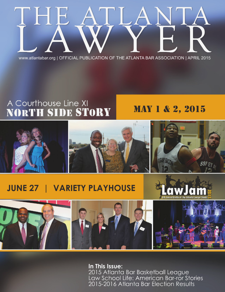 The Atlanta Lawyer April 2015