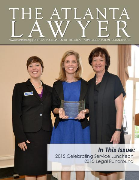 The Atlanta Lawyer October/November 2015