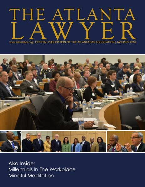 The Atlanta Lawyer January 2016