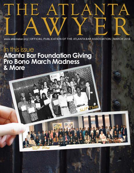 The Atlanta Lawyer March 2016