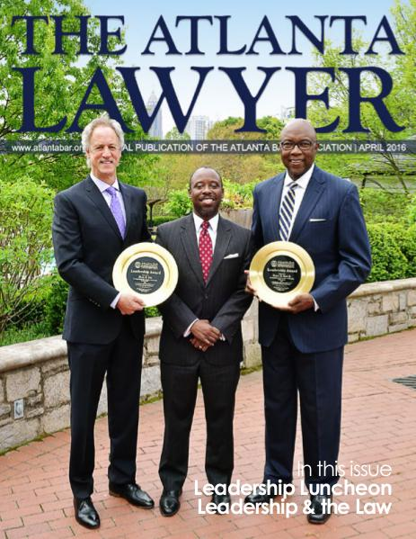 The Atlanta Lawyer April 2016