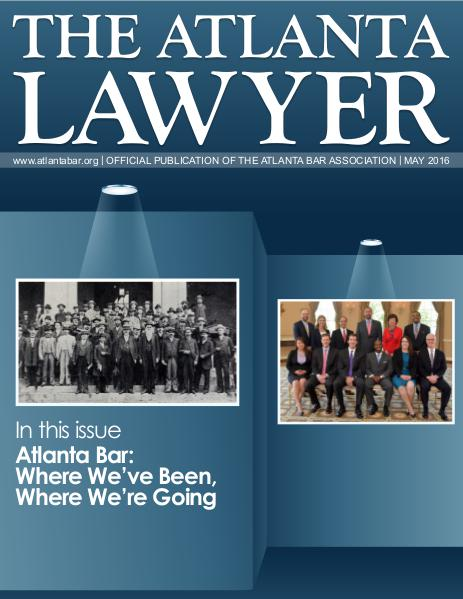 The Atlanta Lawyer May 2016