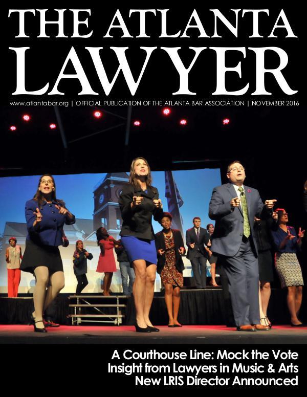 The Atlanta Lawyer November 2016