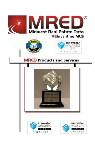 MRED Products and Services Brochure 080414 August, 2014