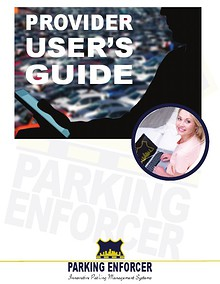 Parking Enforcer Provider User's Guide
