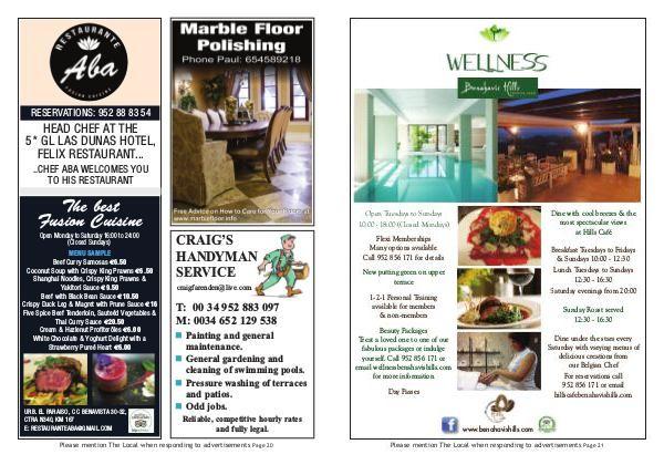 The Local Costa Del Sol Sept - Nov - Page 20