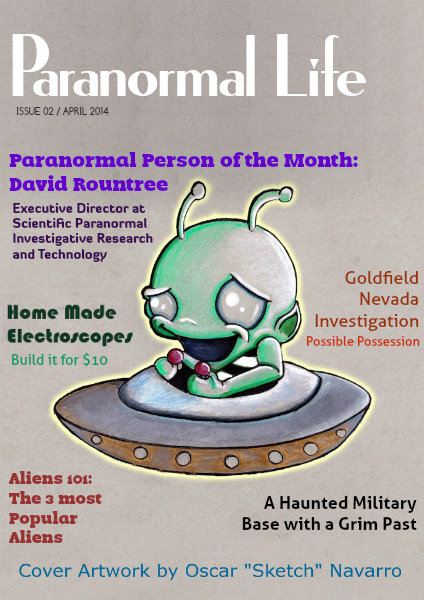 Paranormal Life Aug 2014