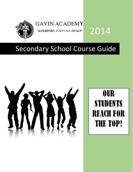Curriculum Choices 9-12