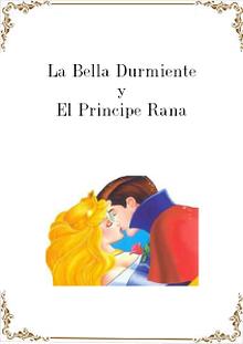 La bella durmiente y el principe rana