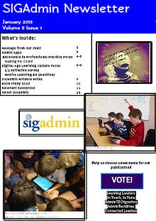 SIGadmin Newsletter