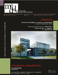 Módulo, cultura arquitectónica. Noviembre 2012.