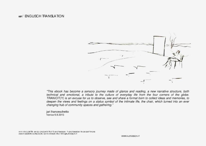 TRAN/CIT(Y) by Jari Franceschetto E-book English translation