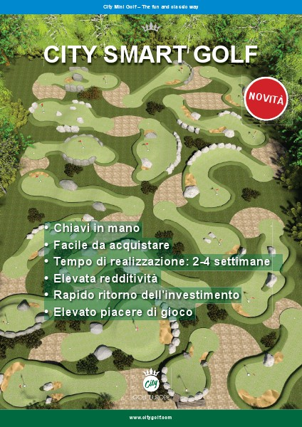 Cataloghi diversi City Golf Europe - City Smart Golf