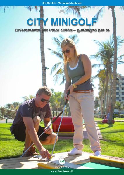 Cataloghi diversi City Golf Europe - Minigolf