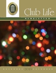 White Columns Club Life November/December 2013