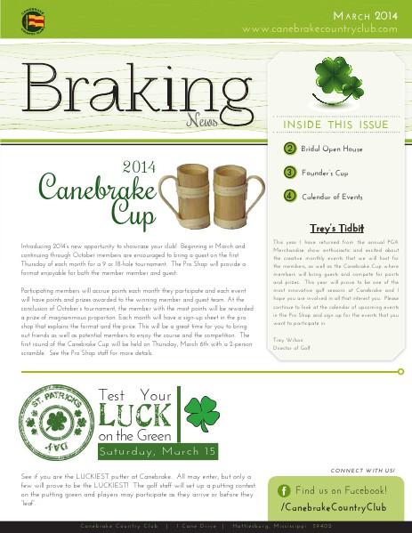 Braking News March 2013