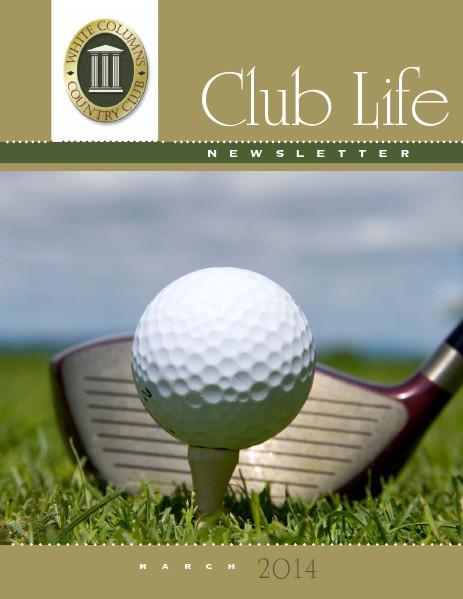 White Columns Club Life March 2014