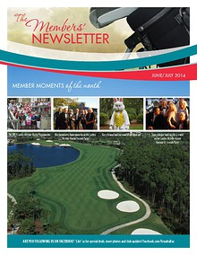 Regatta Bay Club Newsletter