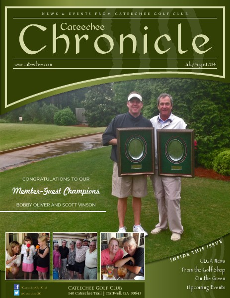 Cateechee Chronicle July-August 2014