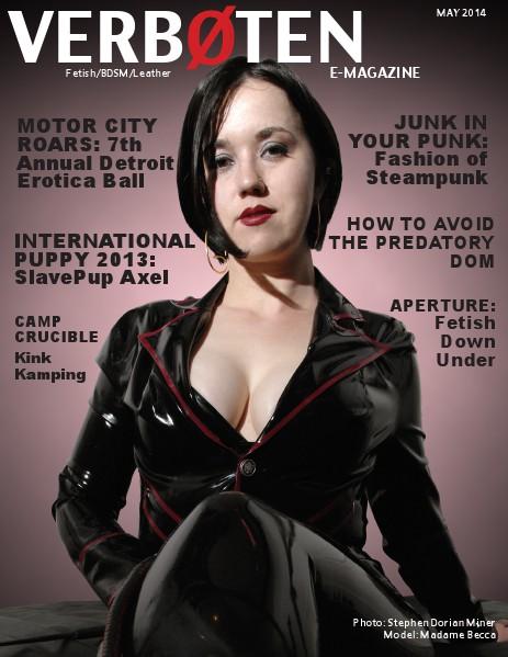 VERBOTEN Magazine May 2014