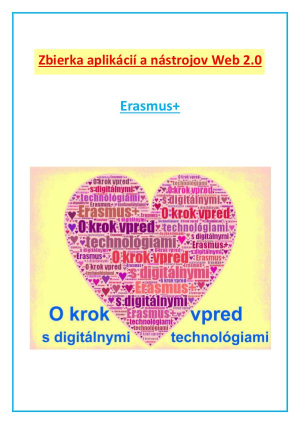 Zbierka aplikácií a nástrojov Web 2.0 Zbierka nástrojov OKVsDT