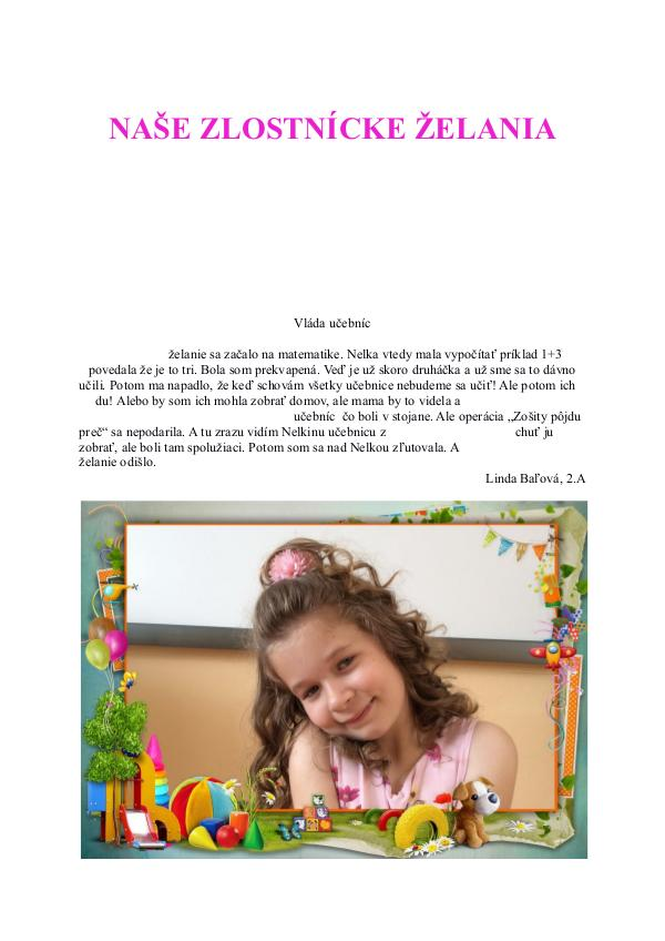 Naše zlostnícke želania Naše zlostnícke želania - 2.A(5)