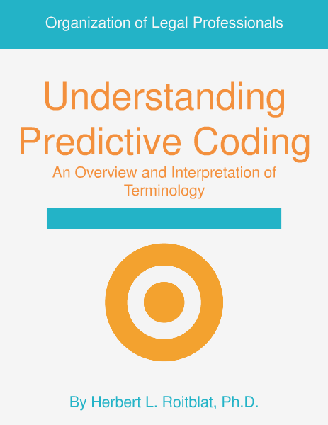 Intro to Predictive Coding: Overview & Interpretation of Terminology June 2014