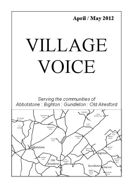 Village Voice April/May 2012
