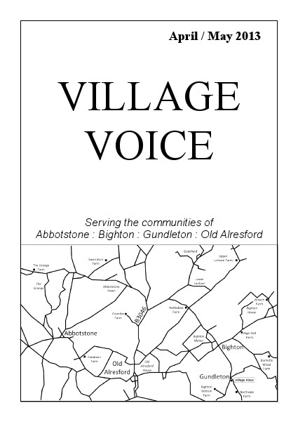 Village Voice April/May 2013