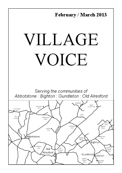Village Voice February/March 2013
