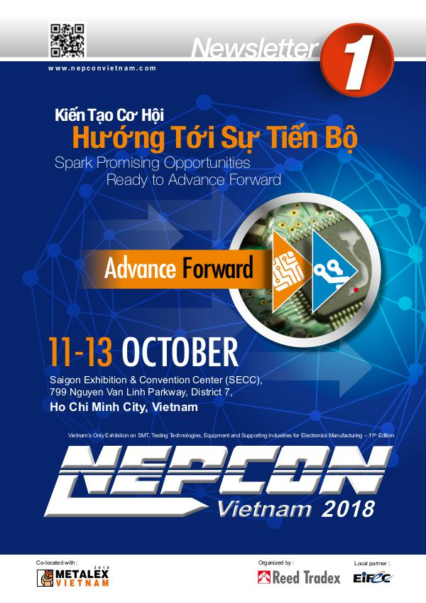 NEPCON Vietnam 2018 Newsletter #1 NEV 2018_NEWSLETTER#1_lowres