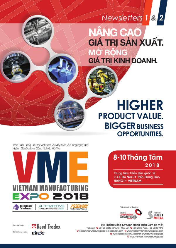 Vietnam Manufacturing Expo 2018 Newsletter 1&2 VME 2018_Newsletter#1&2