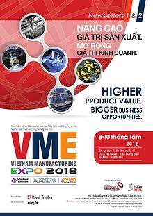 Vietnam Manufacturing Expo 2018 Newsletter 1&2
