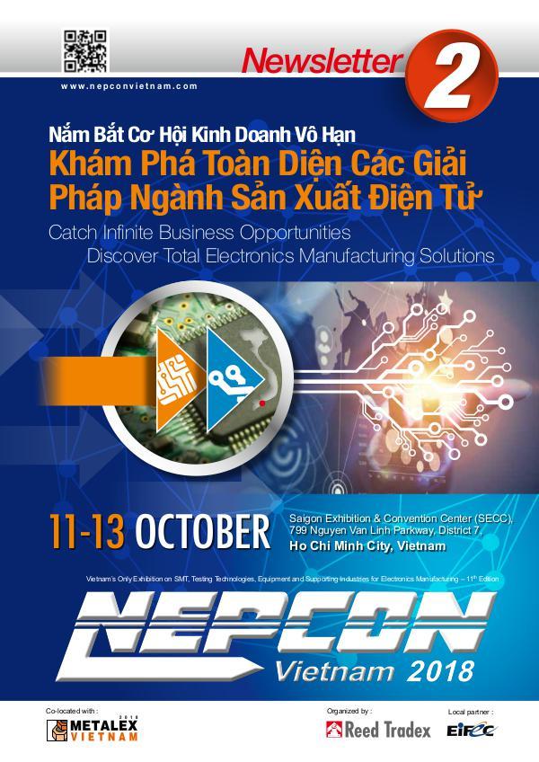 NEPCON Vietnam 2018 Newsletter 1 Newsletter #2