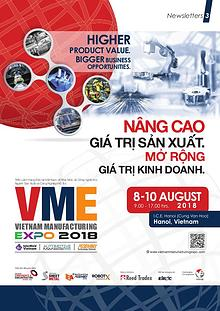Vietnam Manufacturing Expo 2018 Newsletter#3