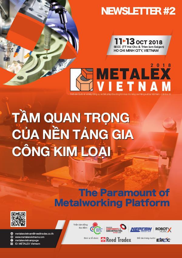 METALEX Vietnam 2018 Newsletter #1 MXV_2018_NEWSLETTER#2_L
