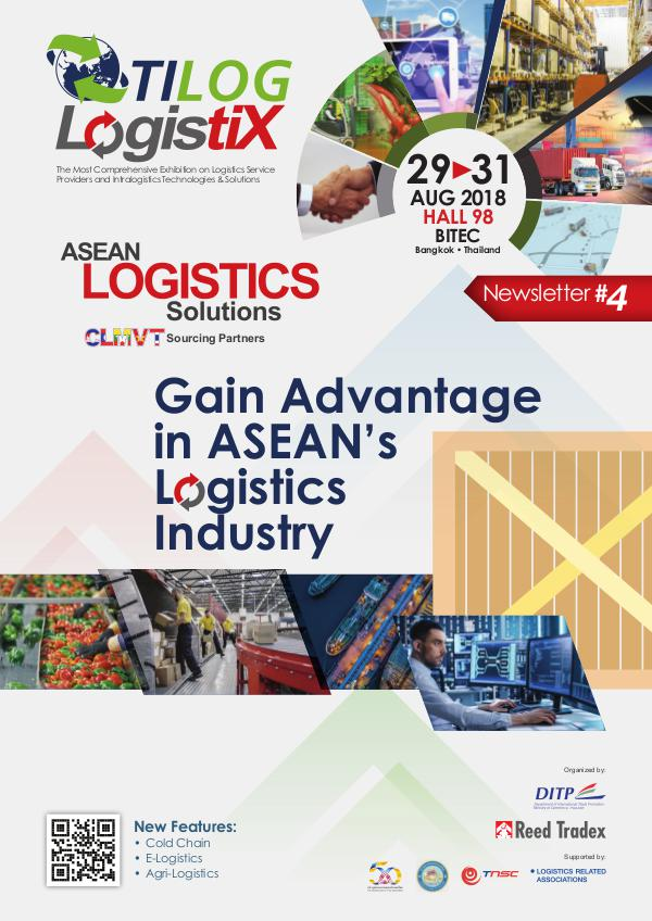 TILOG – LOGISTIX 2018 Newsletter #4 LGX 2018_Newsletter#4_L