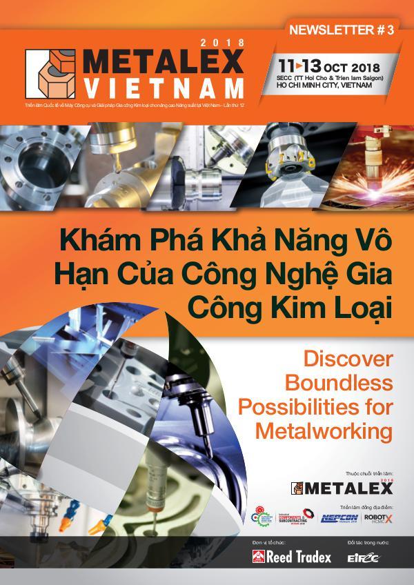 METALEX Vietnam 2018 Newsletter #3 MXV_2018_NEWSLETTER#3_A3_L