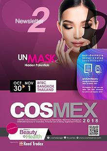 COSMEX 2018 Newsletter #2