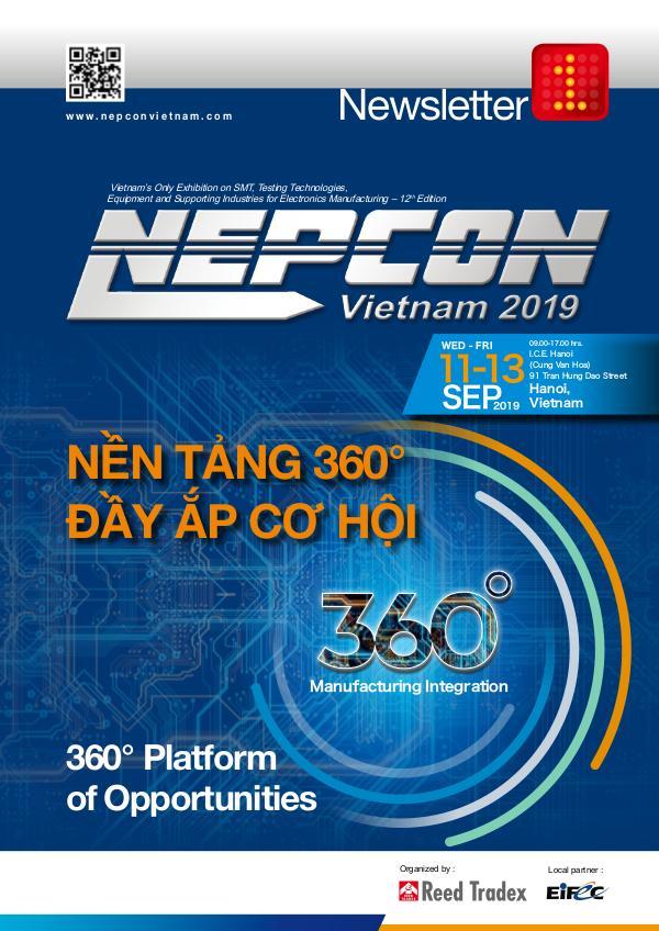 NEPCON Vietnam 2019 Newsletter #1 NEPCON_Vietnam_Newsletter1