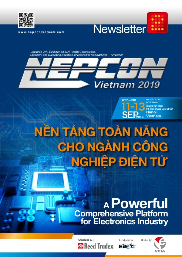 NEPCON Vietnam 2019 Newsletter #2 NEV 2019 Newsletter#2