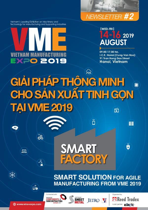 Vietnam Manufacturing Expo 2019 Newsletter #2 VME 2019_Newsletter#2
