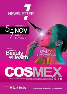 COSMEX 2019 Newsletter#1