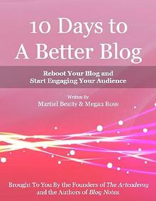 10 Days to a Better Blog eBook