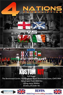 4 Nations Powerlifting