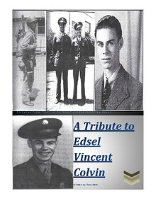 A Tribute to Edsel Vincent Colvin