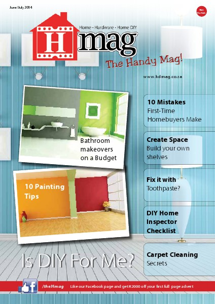 H Mag - The Handy Mag for Home, Hardware and Home DIY Jun. 2014