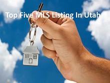 Top Five MLS Listing In Utah