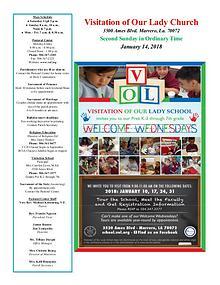 VOL Parish Weekly Bulletin