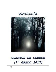 Antología de Cuentos de Terror - 7° Grado